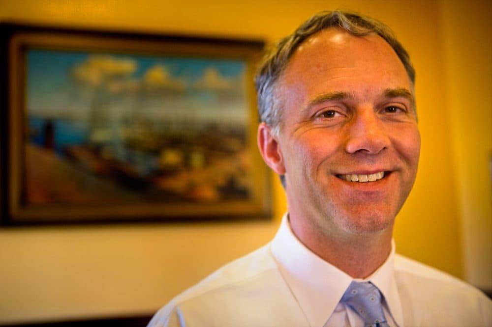 New Bedford Mayor Jon Mitchell. (Jesse Costa/WBUR)