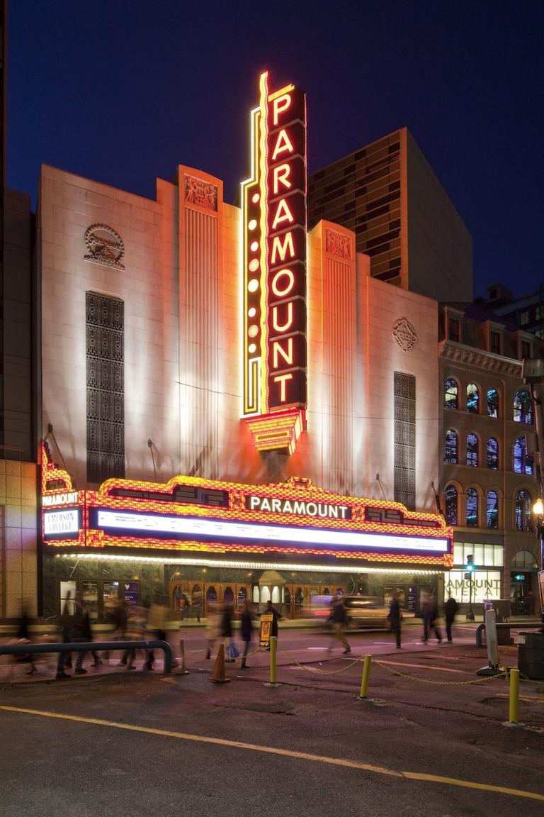 The Paramount Center. (Peter Vanderwarker)
