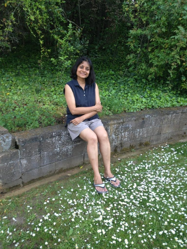 Professor Nalini Ambady last summer (courtesy)