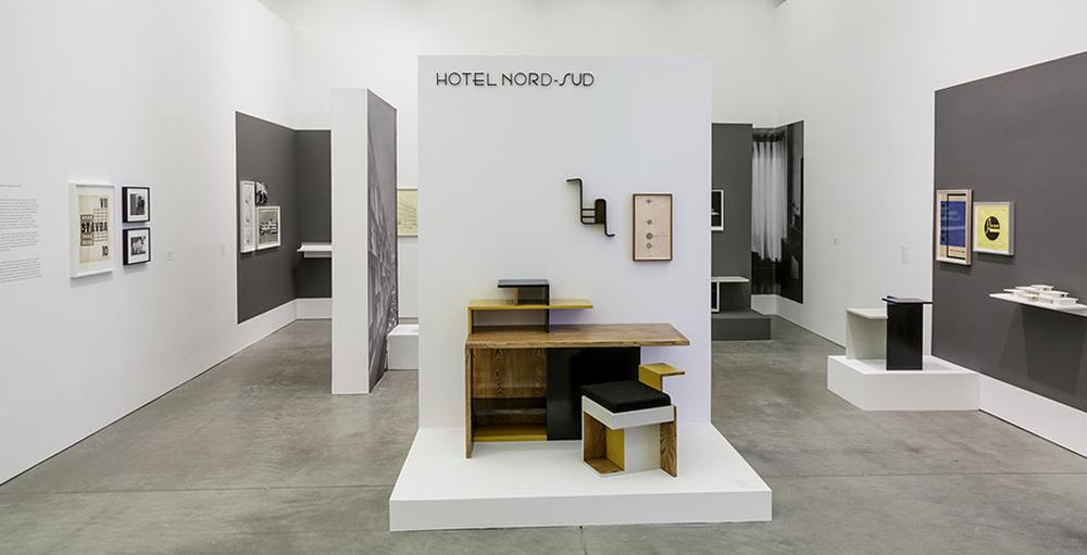 """Katarina Burin, """"Hotel Nord-Sud 1932–34: Design and Correspondence,"""" 2013. (Courtesy of the ICA)"""