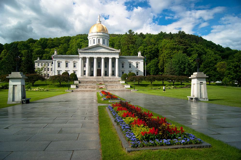 The Vermont State House in Montpelier (Wikimedia Commons/jonathanking)