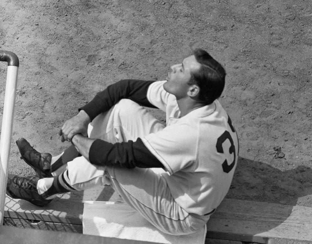 Red Soxoutfielder Jimmy Piersall received the praise of one OAGlistener who named the playeras their favorite center fielder. (Peter J. Carroll/AP)