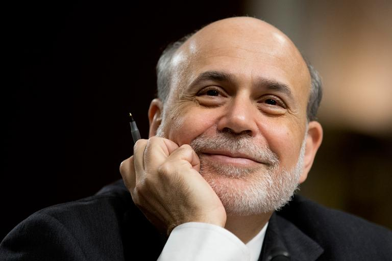 "Federal Reserve Chairman Ben Bernanke reacts as he testifies on Capitol Hill in Washington, Wednesday, May 22, 2013, before a Joint Economic Committee hearing on ""The Economic Outlook."" (Manuel Balce Ceneta/AP)"