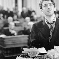 "The last time the filibuster was used responsibly: Actor Jimmy Stewart in a scene from the 1939 film, ""Mr. Smith Goes to Washington."" (Columbia/AP)"