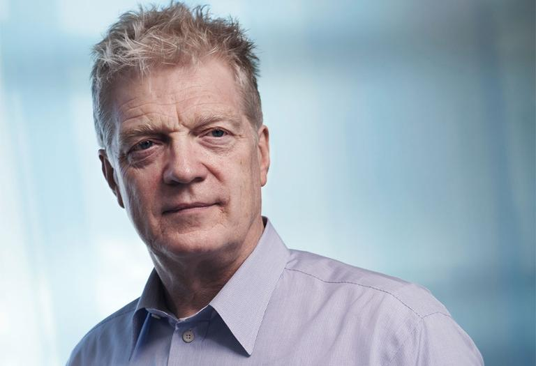 Sir Ken Robinson works in the development of creativity, innovation and human resources in education and in business. (Martin Mancha)