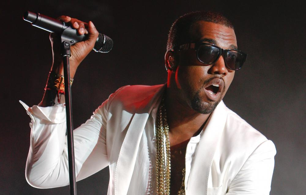 U.S. singer and rapper Kanye West performs in Rabat, Morocco, Saturday, Aug. 6, 2011. (Abdeljalil Bounhar/AP)