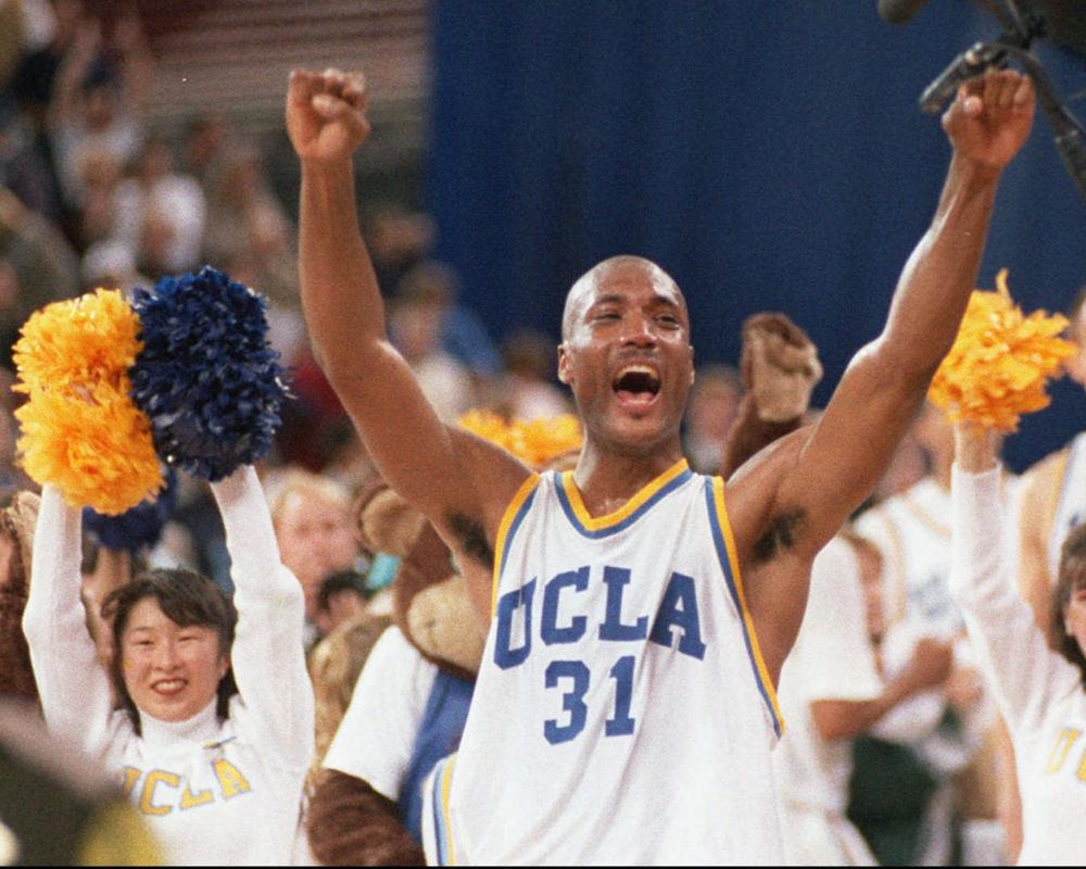Might the former UCLA basketball player and other college athletes be celebrating a victory, albeit a small one, in court soon? (Eric Draper/AP)