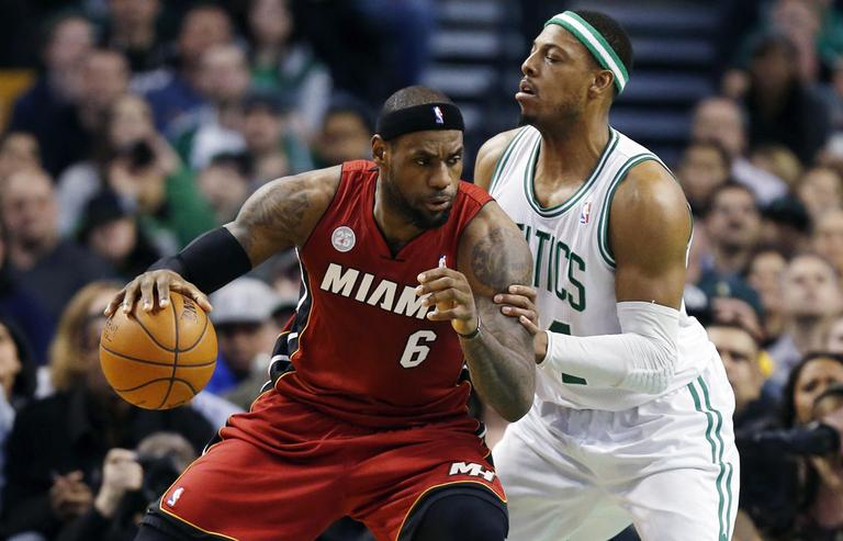 "Muthu Alagappan classifies Miami Heat's LeBron James (6) a hybrid player — a cross between a ""Two-way All star"" and a ""Scoring Rebounder."" (Michael Dwyer/AP)"