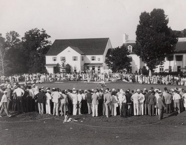 Pennsylvania's Merion Golf Club, which is currently hosting its fifth U.S. Open, first hosted the tournament in 1934. (Photo courtesy of USGA)