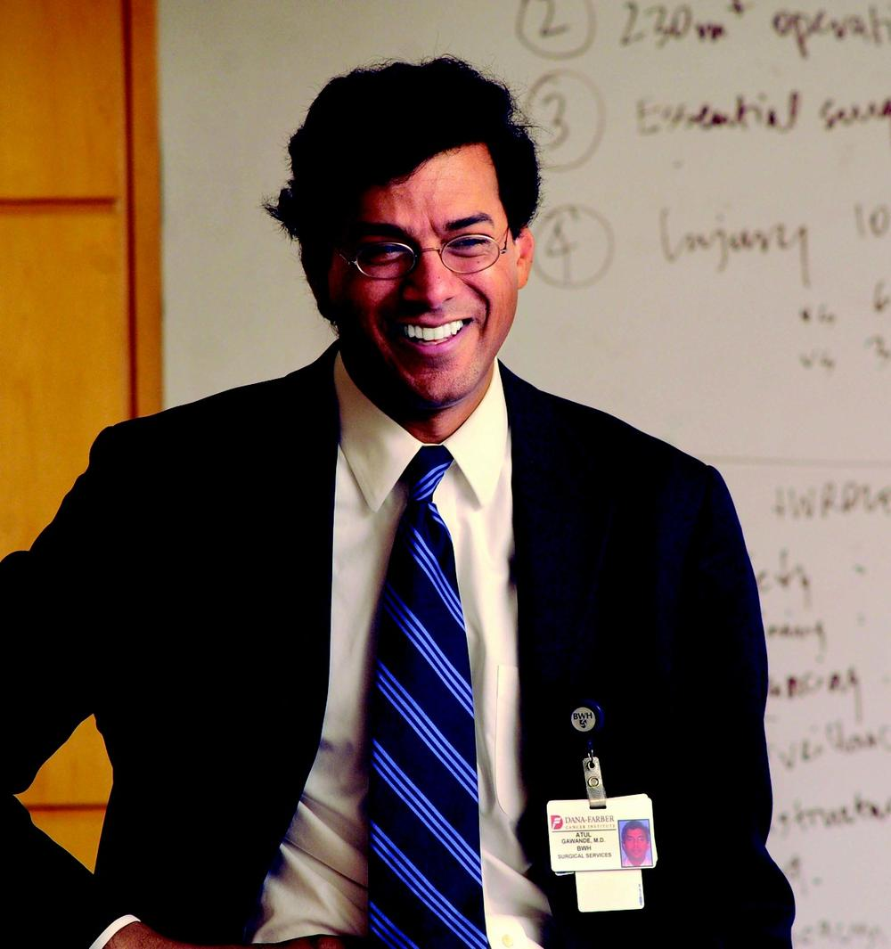 Surgeon and writer Atul Gawande is opening Ariadne Labs, a center for health care innovation. (Courtesy Fred Field)