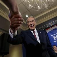 U.S. Senate candidate Ed Markey shakes hands with a supporter in Boston, Tuesday, April 30, 2013 as he celebrates winning the Democratic primary for the special U.S. Senate election. (Elise Amendola/AP)