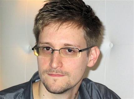 This image made available by The Guardian Newspaper in London shows an undated image of Edward Snowden, 29. Snowden worked as a contract employee at the National Security Agency and is the source of The Guardian's disclosures about the U.S. government's secret surveillance programs, as the British newspaper reported Sunday, June 9, 2013. (Ewen MacAskill, The Guardian/AP)