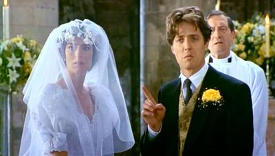 "A scene from the film ""Four Weddings and a Funeral."" (PolyGram Filmed Entertainment)"