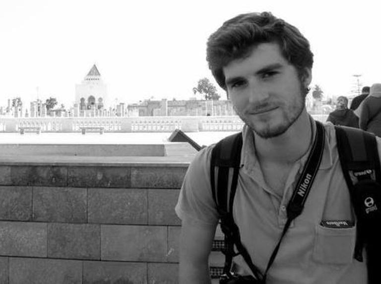 Andrew Driscoll Pochter, who died while photographing clashes between opponents and supporters of President Mohamed Morsi in Alexandria, Egypt. (AP/Pochter Family)