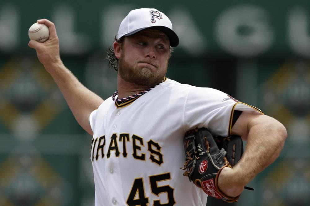Rookie pitcher Gerrit Cole hashelped make Pittsburgh one of the best teams in baseball. (Gene J. Puskar/AP)