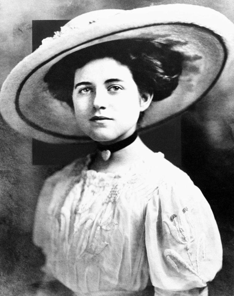 Rose Fitzgerald Kennedy in 1911. (AP)