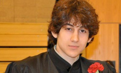 Dzhokhar A. Tsarnaev is pictured at his 2011 graduation from Cambridge Rindge and Latin, a public high school in Cambridge, Mass. (Courtesy: Robin Young/Here & Now)