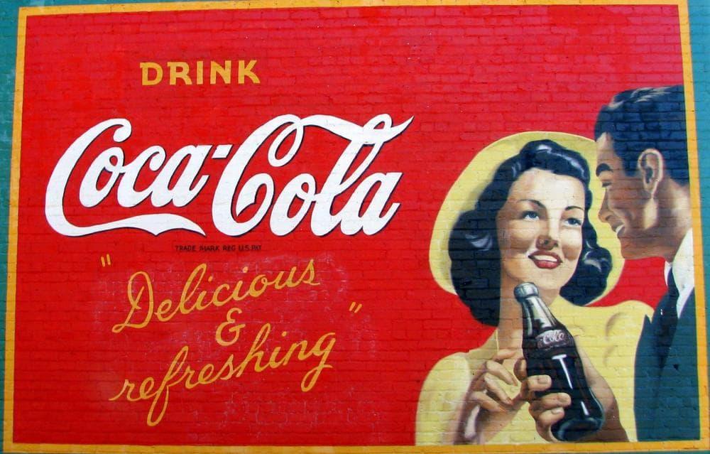 A restored Coca-Cola mural in Georgia. (Brent Moore/Flickr)