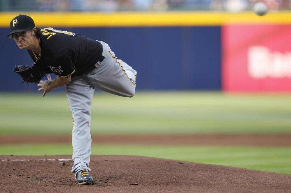 Pittsburgh pitcher Jeff Locke's 8-2 start this season earned him a trip to the All-Star Game and helped to keep the Pirates in the playoff hunt. (Jaime Henry-White/AP)
