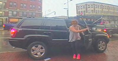 Boston Police have released this surveillance image of Amy Lord from Tuesday morning.