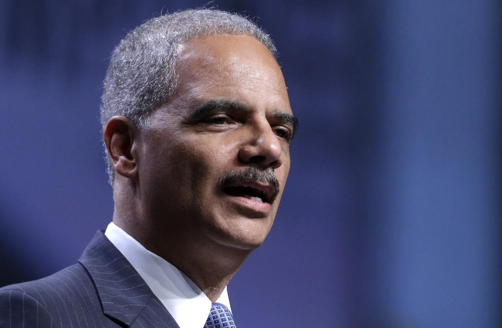 Attorney General Eric Holder speaks at the National Urban League annual conference, Thursday, July 25, 2013, in Philadelphia. (Matt Rourke/AP)