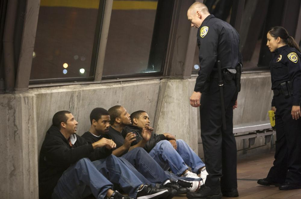 "This film publicity image shows a scene from ""Fruitvale Station."" (Ron Koeberer/The Weinstein Company via AP)"