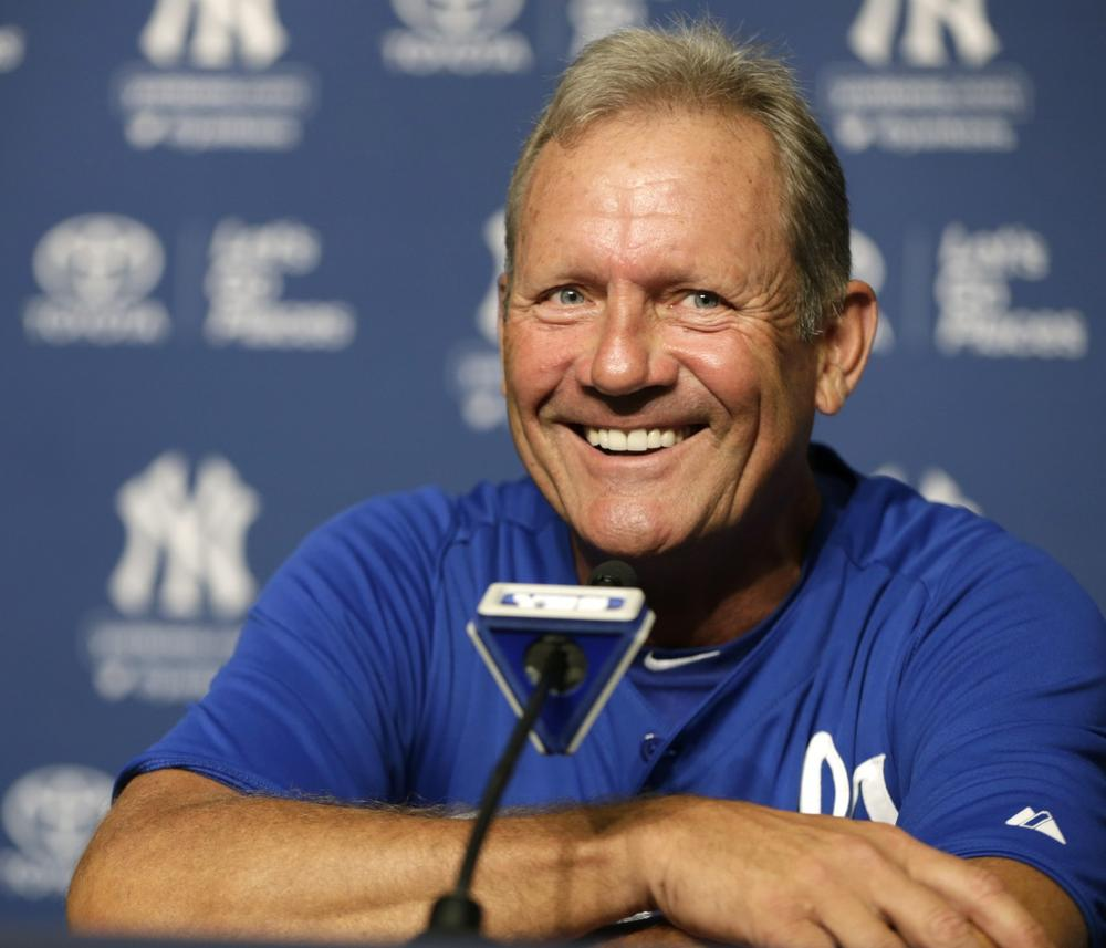 30 years later, former Kansas City Royals star George Brett can smile about his antics after getting ejected for using too much pine tar on his bat. (Kathy Willens/AP)