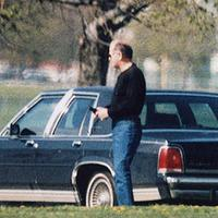 """A spectator explains what motivated him to attend the trial of James """"Whitey"""" Bulger. In this undated surveillance photo released Monday, July 8, 2013 by the U.S. Attorney's office at federal court in Boston shows Bulger, left, with his former right hand man, Kevin Weeks. (AP)"""