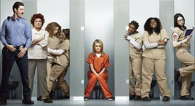 "Promotional image from the new Netflix series ""Orange Is The New Black."" (Netflix)"