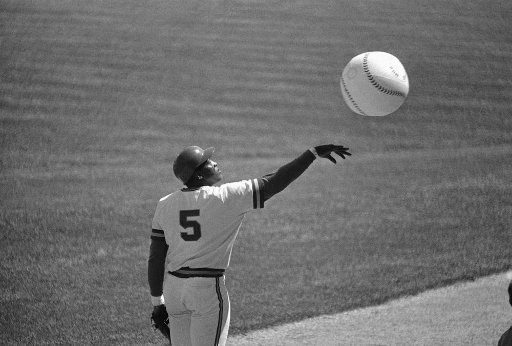 George Scott, shown here in 1976 with the Milwaukee Brewers, brought a sense of fun to the field. Scott died Sunday at the age of 69. (AP)
