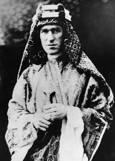 Col. T.E. Lawrence in 1928. (AP)