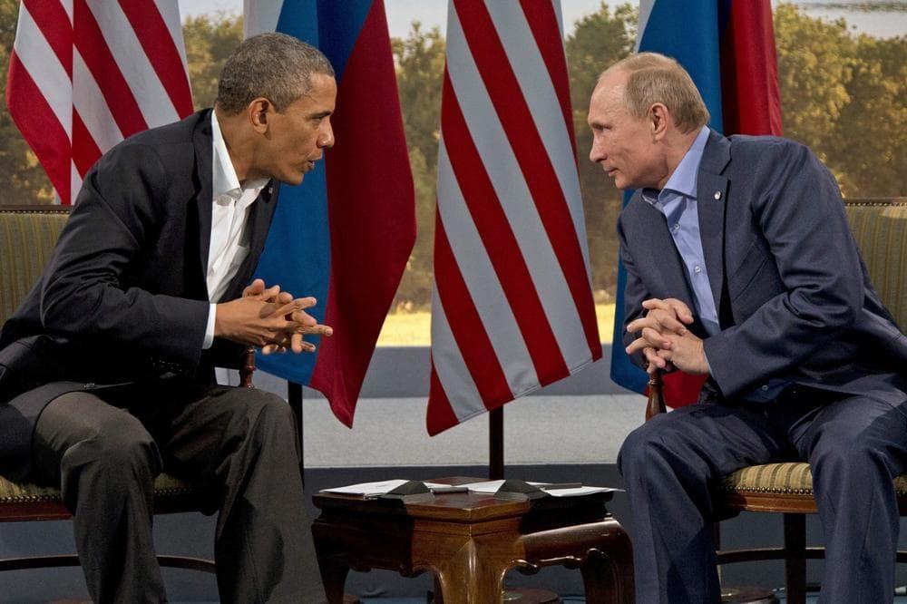 President Barack Obama meets with Russian President Vladimir Putin in Enniskillen, Northern Ireland, Monday, June 17, 2013. (Evan Vucci/AP, file)