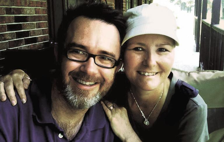 Rod Dreher and Ruthie Lemming. (Photo: Rod Dreher)
