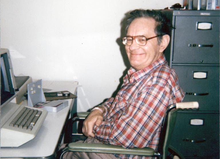 Henry ready for testing at MIT, 1986. (Jenni Ogden)