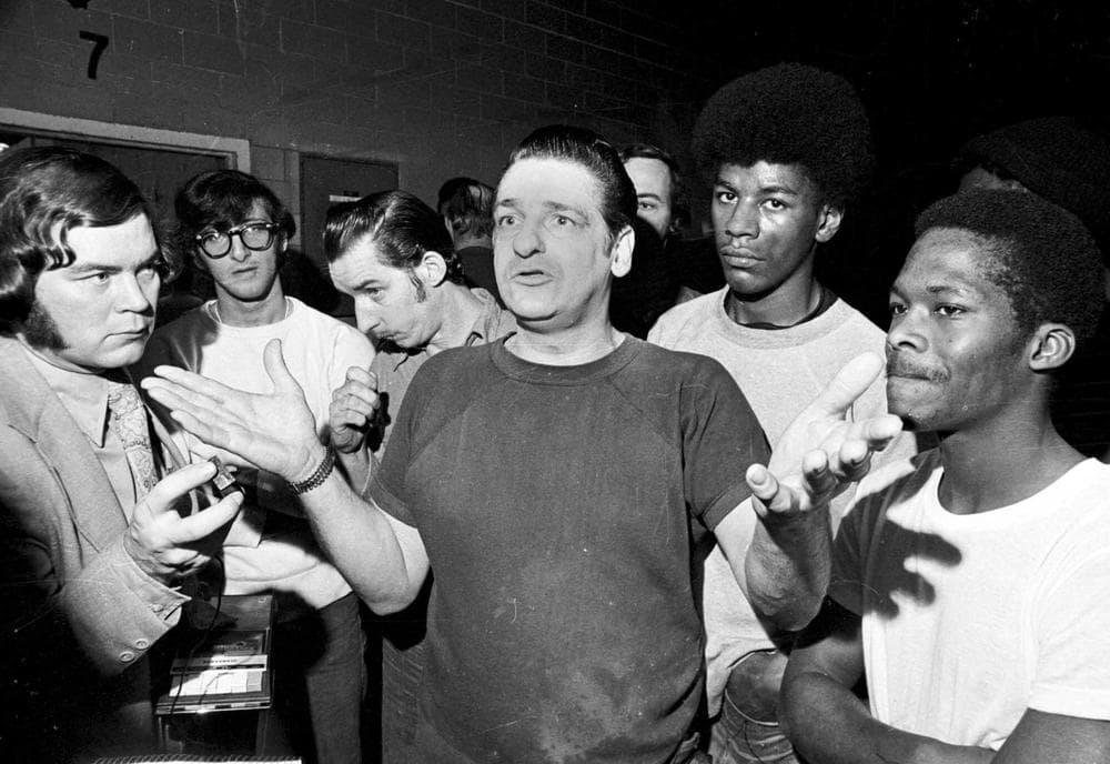 A March 1973 photo of self-confessed Boston Strangler Albert DeSalvo. (AP Photo)