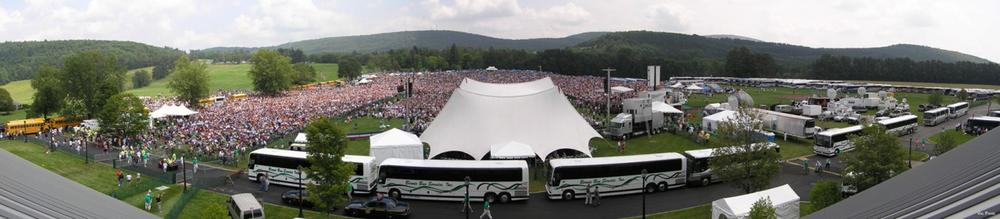 The 2007 induction ceremony was the largest in history. (The National Baseball Hall of Fame and Museum)