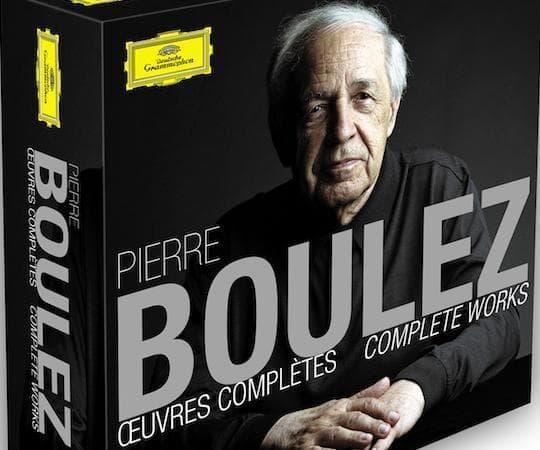 Pierre Boulez Complete Works. (Courtesy, Deutsche Grammophon)