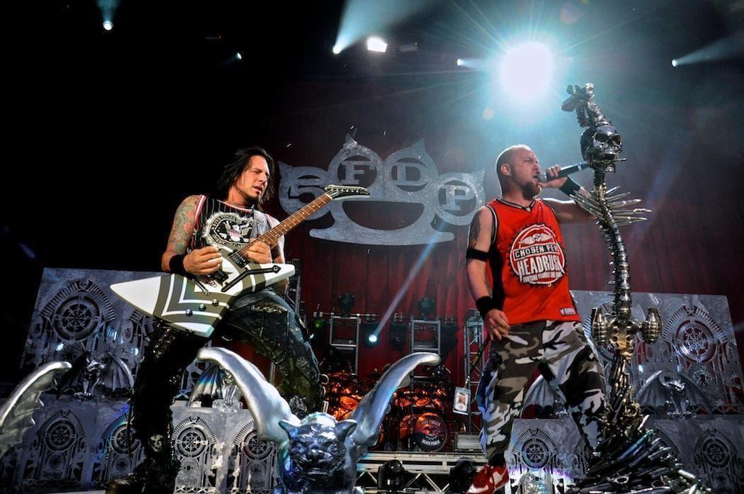 Five Finger Death Punch at Mayhem. (Justin Bauer)