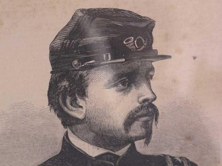 Col. Robert Gould Shaw (Courtesy of the Saint-Gaudens National Historic Site)