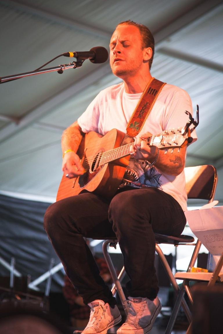 John McCauley at Newport. (Michelle K. Martin)