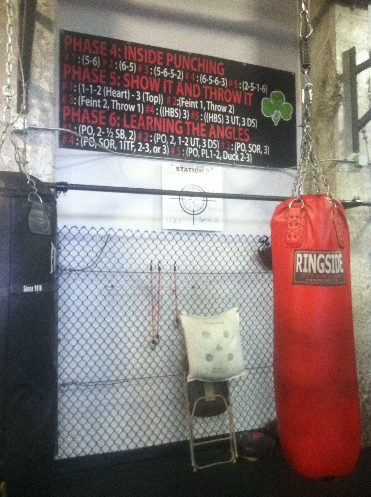 Some working-class Southie institutions, like Peter Welch's Gym, remain. (Curt Nickisch/WBUR)