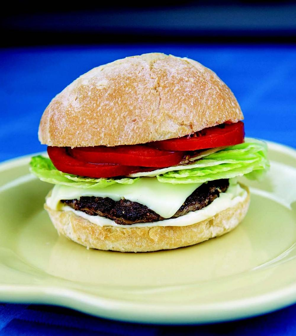 The tried-and-true beef burger.