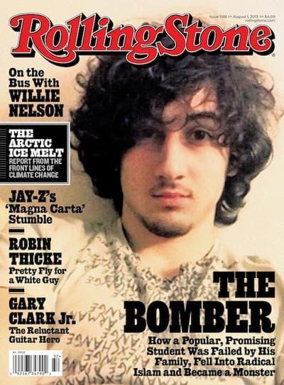 Dzhokhar Tsarnaev on the cover of Rolling Stone. (Courtesy, Wenner Media)