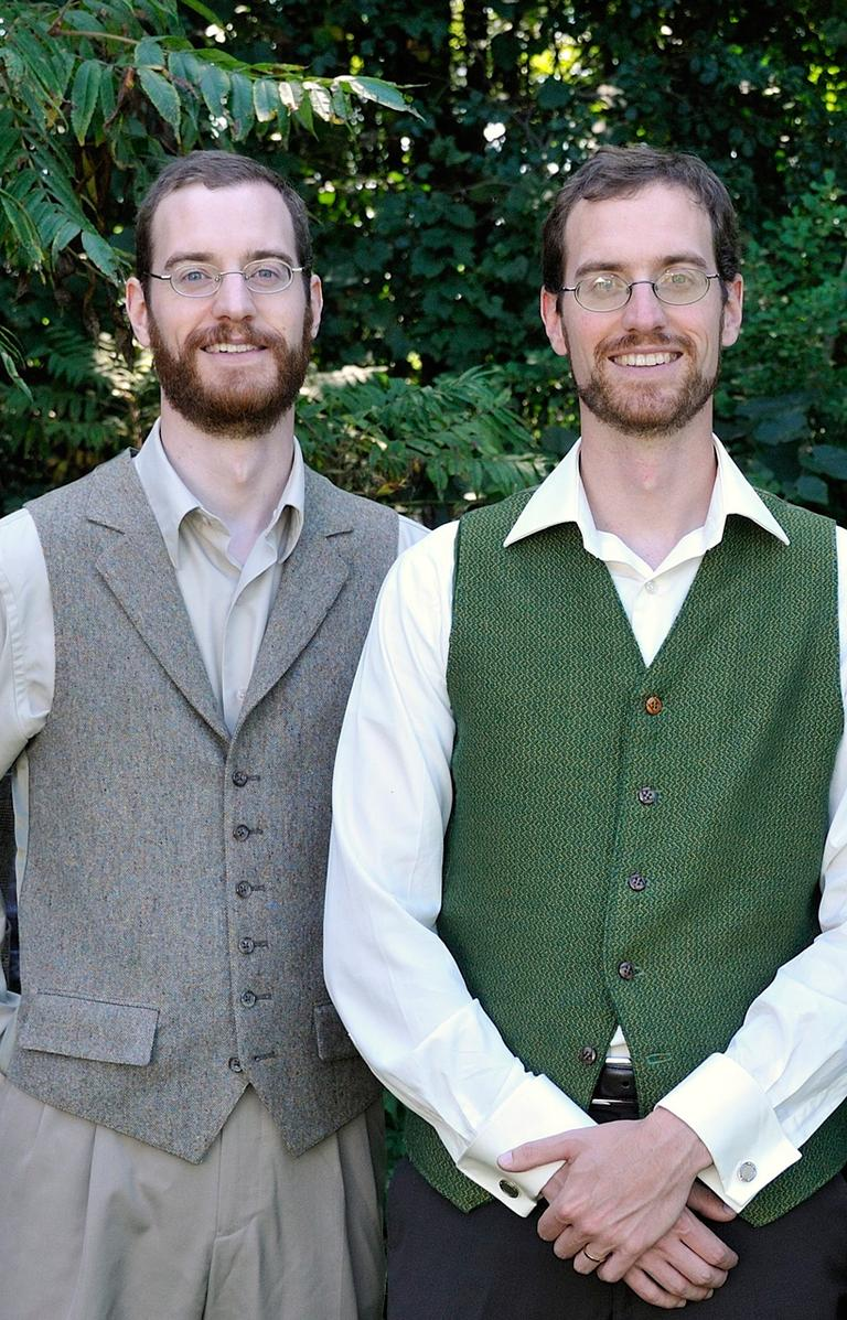 A photo of twin brothers,Will and Tom Lautzenheiser prior to Will's illness. (courtesy)
