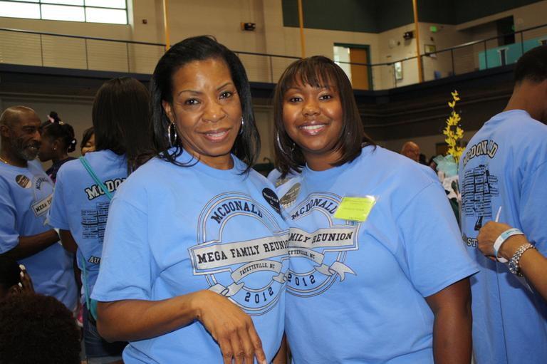 The first-ever McDonald family reunion was held in 2012 and had over 360 attendees. (Courtesy of Angela Johnson-Dorsey)
