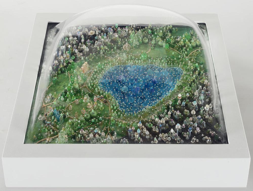"Sally Curcio ""Homage to Jackie O (Central Park),"" 2008. (Courtesy of the artist)"