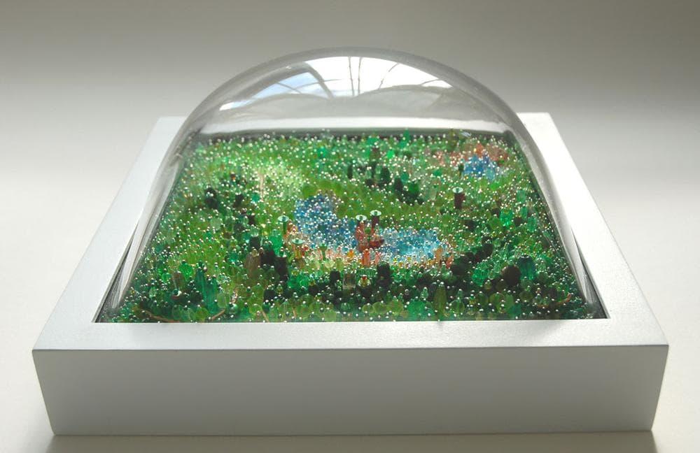 "Sally Curcio ""Sherwood Forest,"" 2008. (Courtesy of the artist)"