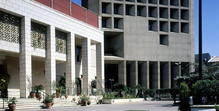 The U.S. Embassy in Cairo, Egypt, is among those ordered closed on Sunday. (State Department)
