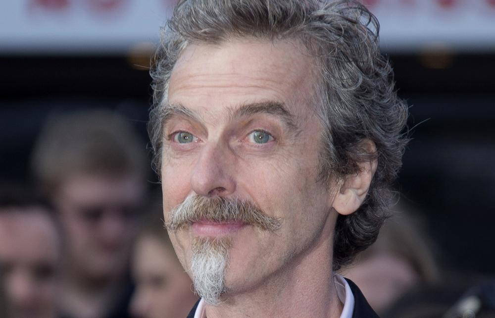Peter Capaldi is pictured at the World Premiere of World War Z at a central London cinema, June 2, 2013. (Joel Ryan/Invision via AP)