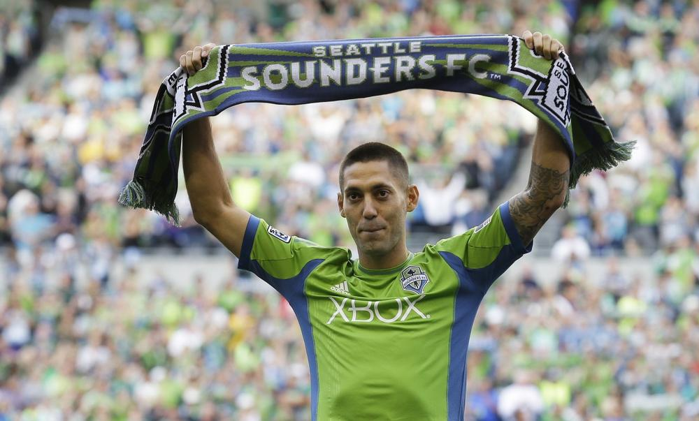 Clint Dempsey's return to MLS has the American soccer world buzzing. (Ted S. Warren/AP)